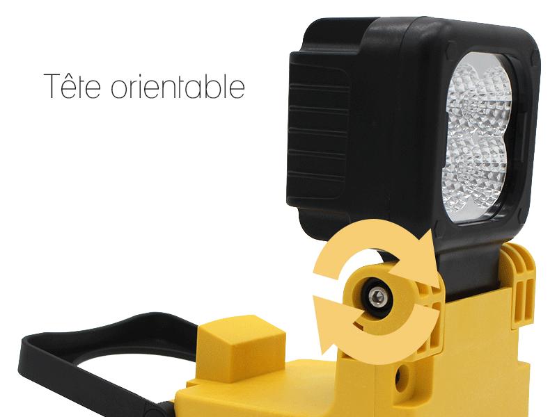 lampe led atelier maintgenance portatif